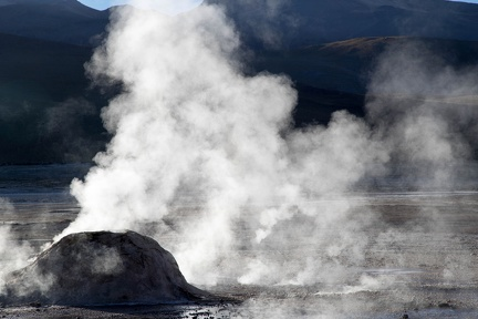 Chili - geyser del Tatio