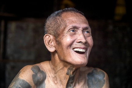 Batang Ai - tribu Iban - tatouages traditionnels